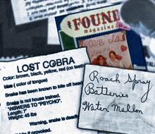 """POV, """"Found"""""""